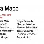 ZsONA MACO 2018 PROYECTOSMONCLOVA